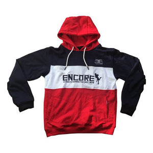 3 Piece Hoodie - Red, White & Blue