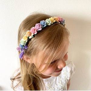 Rainbow Aliceband Headband