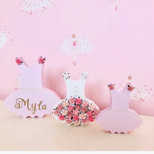 Personalised Ballet Wooden Set