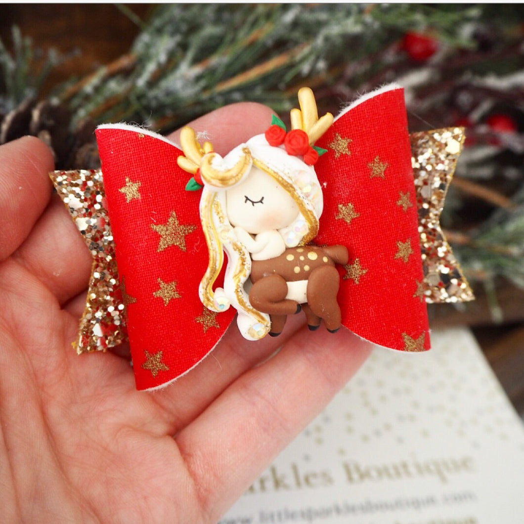 Limited Edition Christmas Star Deer