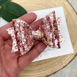 Pinky Rose Gold Bow
