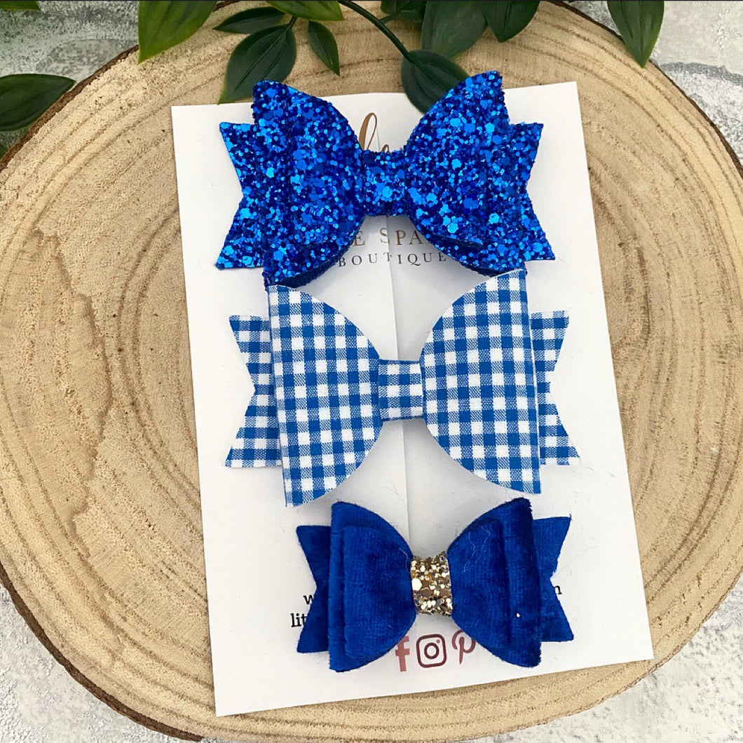 Royal Blue School Set