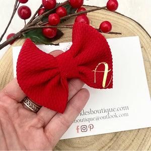 Personalised Christmas Bow
