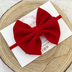 Red Bullet Bow
