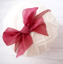 Silk Chiffon Tie Bow (variety Of Colours)