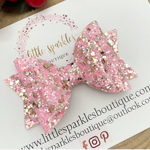 Pink And Gold Glitz