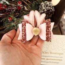 Pink And Rose Gold Raindeer Ears
