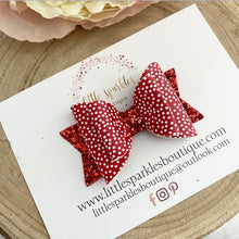 Red spotty Bow
