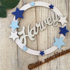Boys Star Name Hanger