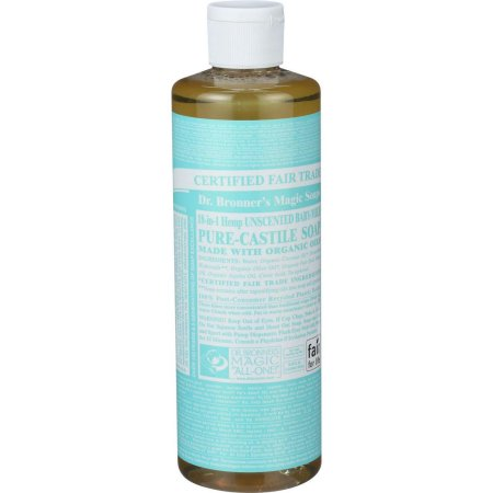 Pure-Castile Liquid Soap - Unscented