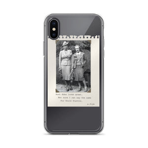 "Frye-ku ""Aunt Edna"" iPhone Case"