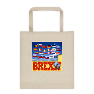 Brexit Square Bottom Tote Bag