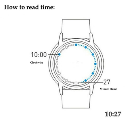 Eternity™ Touch Screen LED Watch