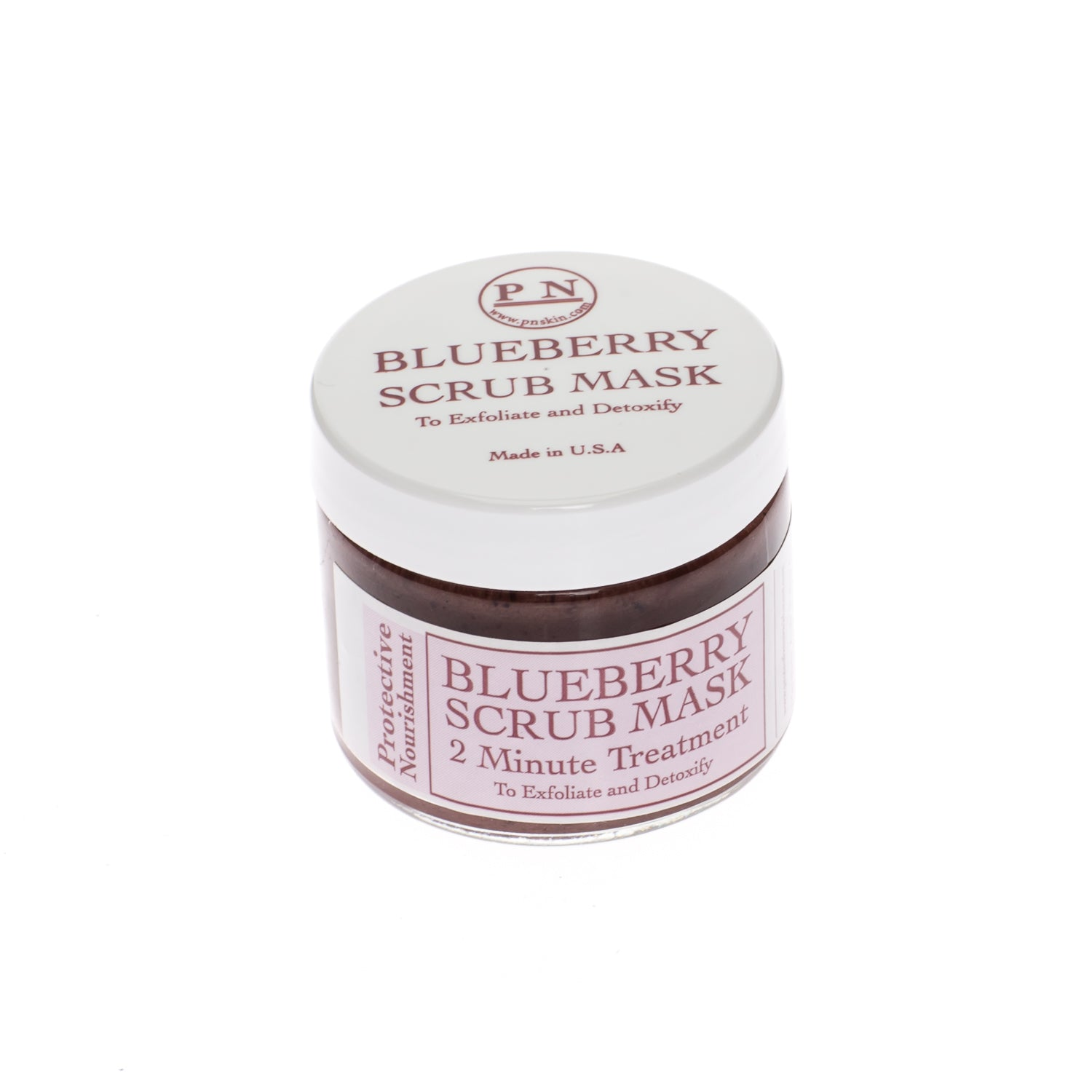 protective nourishment blueberry scrub mask