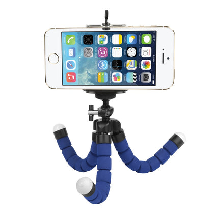 Flexible Sponge Tripod with Phone Holder for iPhone Samsung Huawei Xiaomi Lenovo