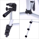 Professional Camera Tripod Stand with Phone Holder, Nylon Carry Bag for Phone