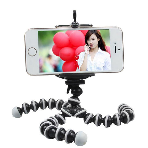 Portable Mini Flexible Tripod Bracket for Phone