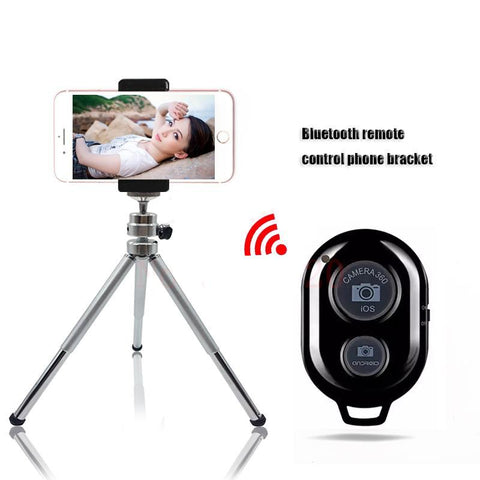 Bluetooth Remote Tripod with Bracket / Mount for Phone