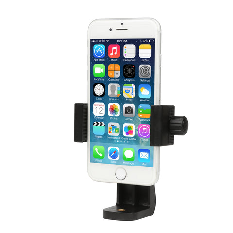 Universal 360 Degree Adapter Cell Phone Vertical Holder Bracket for iPhone, Samsung, Xiaomi