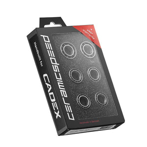 Giant Cadex CeramicSpeed Bearings - Cadex 42 & 65 Disc Front & Rear Hub Set - Steed Cycles