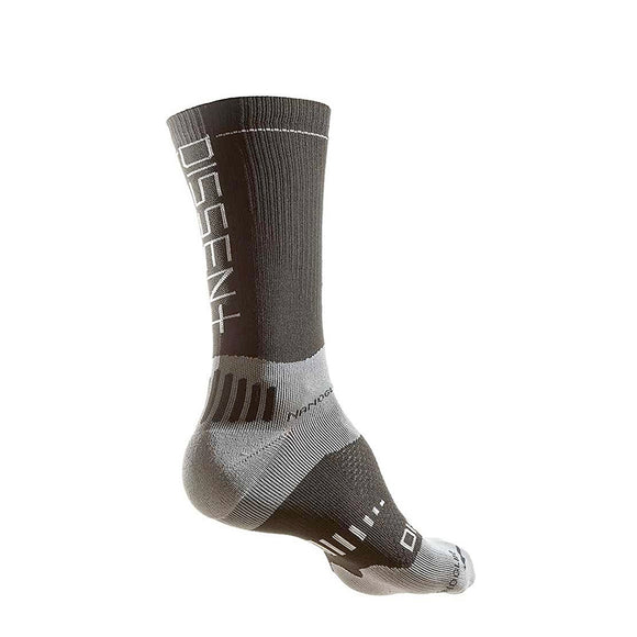 "Dissent Labs Supercrew Nanoglide 6"" Compression Socks - Steed Cycles"