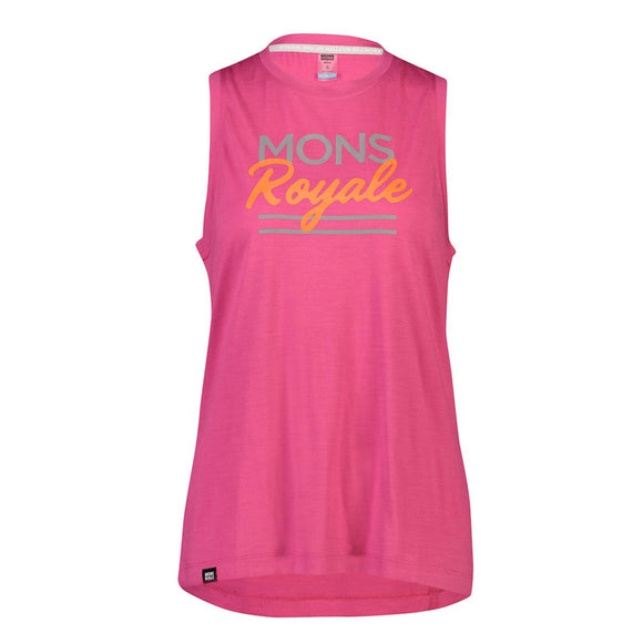Mons Royale Women's Tarn Freeride Tank - Steed Cycles