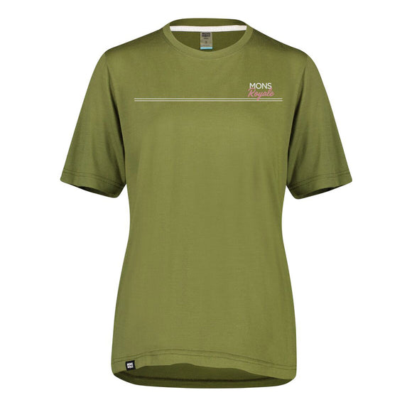 Mons Royale Women's Tarn Freeride Tee - Steed Cycles