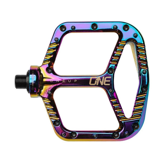 OneUp Flat Aluminum Pedals - Steed Cycles