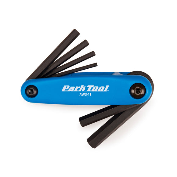 Park Tool AWS-11 Fold-Up Hex Wrench Set - Steed Cycles