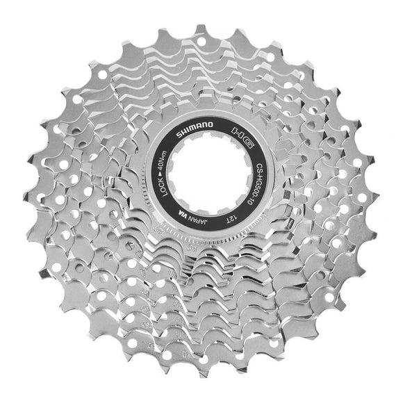 Shimano CS-HG500 10-Speed Cassette 12-28T - Steed Cycles