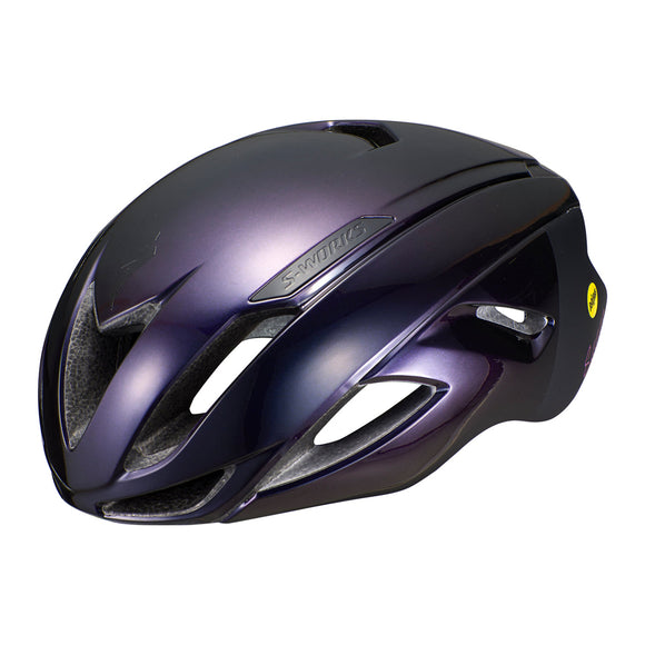 Specialized S-Works Evade w/ANGi MIPS Helmet Sagan Collection: Deconstructivism - Steed Cycles