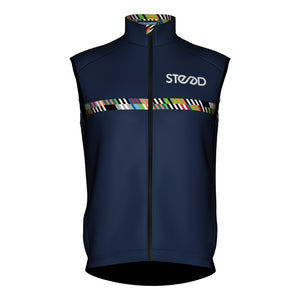 Steed Cycles Training Kit - Men's Epic Pro Wind Vest - Steed Cycles