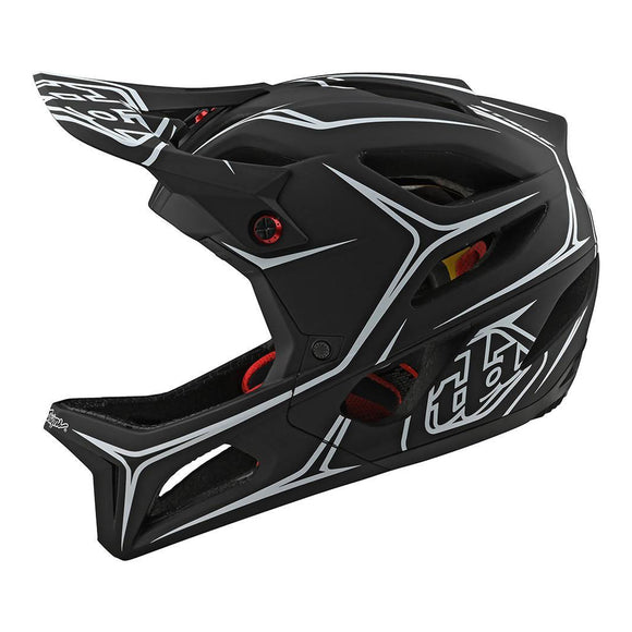 Troy Lee Designs Stage Helmet Pinstripe - Steed Cycles