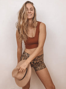 miloh fox, scoop neck bra, sustainable activewear