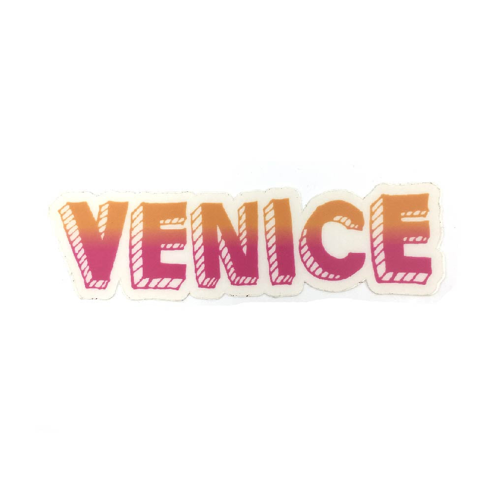 Day Glow Venice Sticker