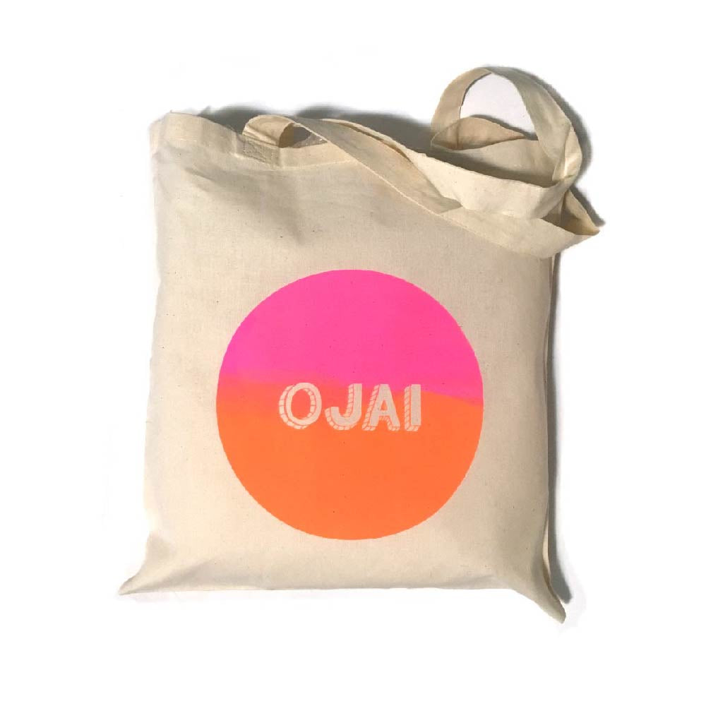 Day Glow Ojai Tote Bag