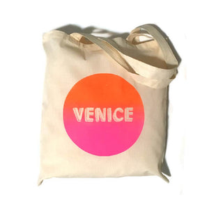 Day Glow Venice Tote Bag