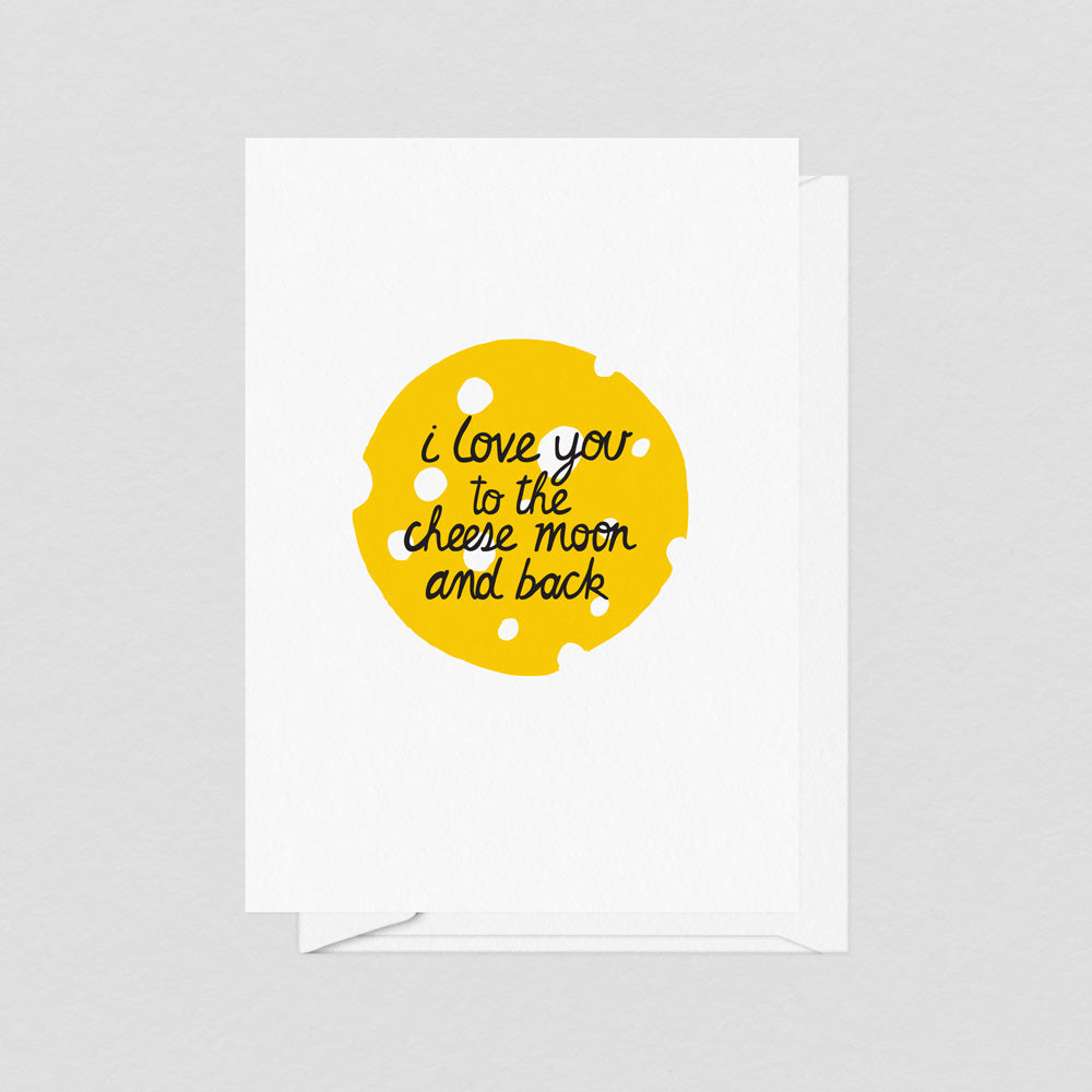 Cheese Moon - Card