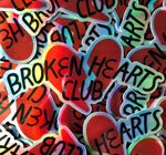 Broken Club Sticker