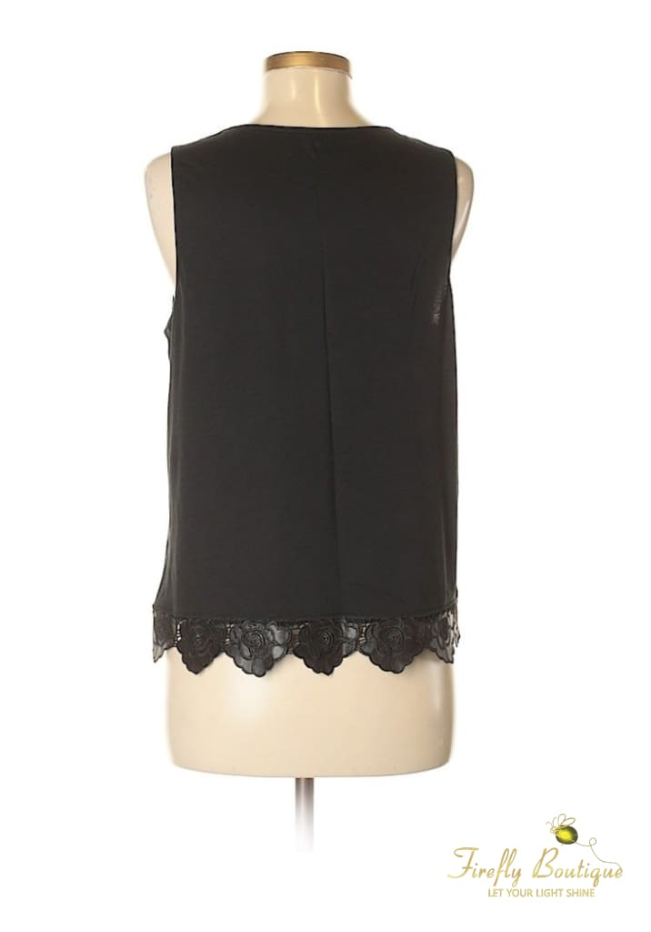 4090db1974369 Firefly Clothing Boutique - Express Lace Detail Sleeveless Blouse