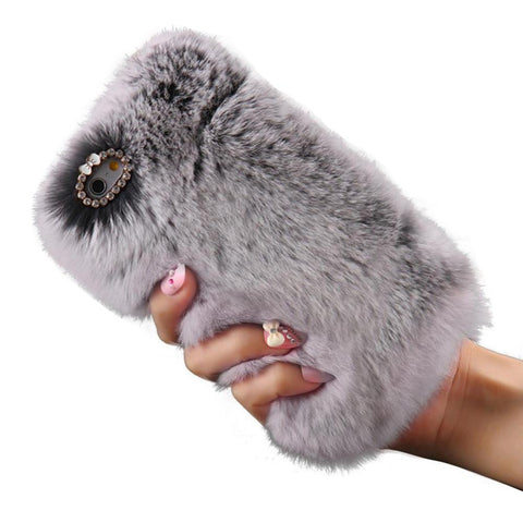 Fluffy Hair case For iPhone Models