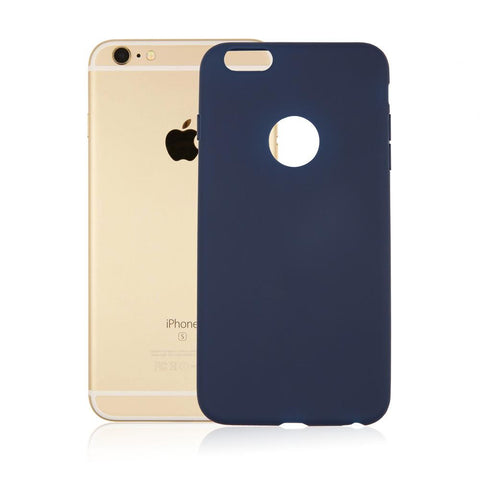 Candy Color Soft Case For iPhone 7 6 6s Plus SE 5 5s - Silicone Rubber case