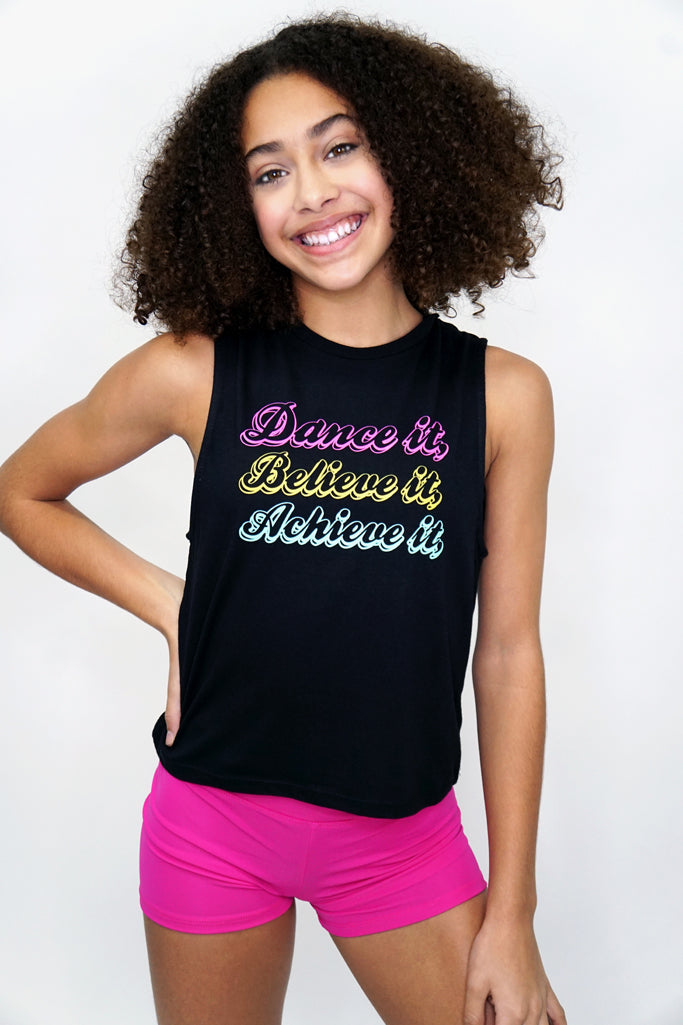 DBA2012- Dance it muscle tank