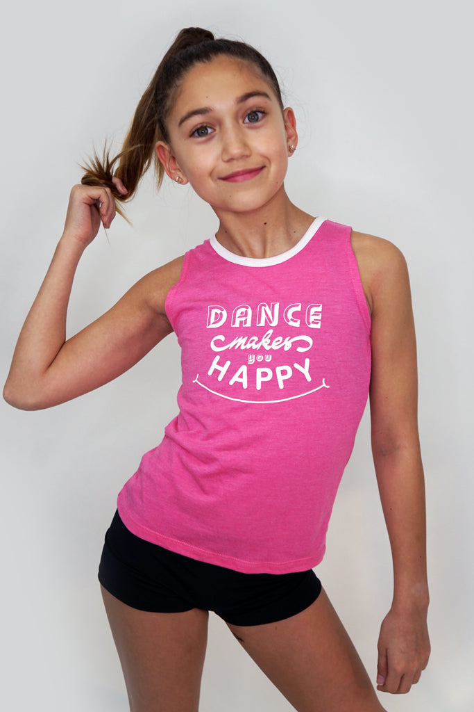 DH9210- Dance Makes You Happy Tank