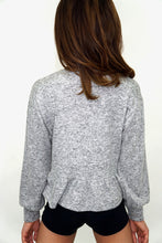 K1012- Ruffle long sleeve