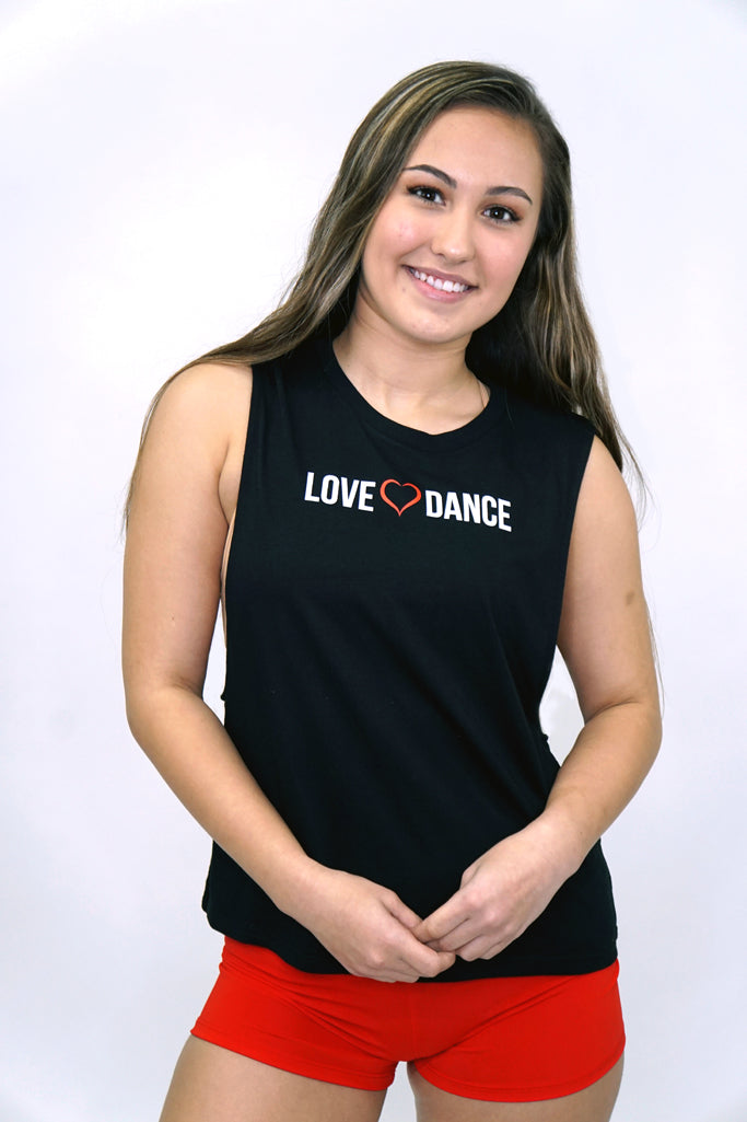 LD2012- Love Dance Muscle Tank