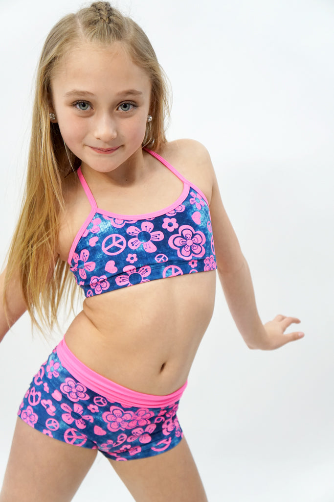 301/7301- Pink hippie chick top and bottom