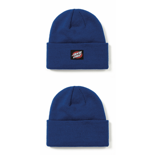 Santa Cruz - Oval Dot Beanie -  Bright Blue