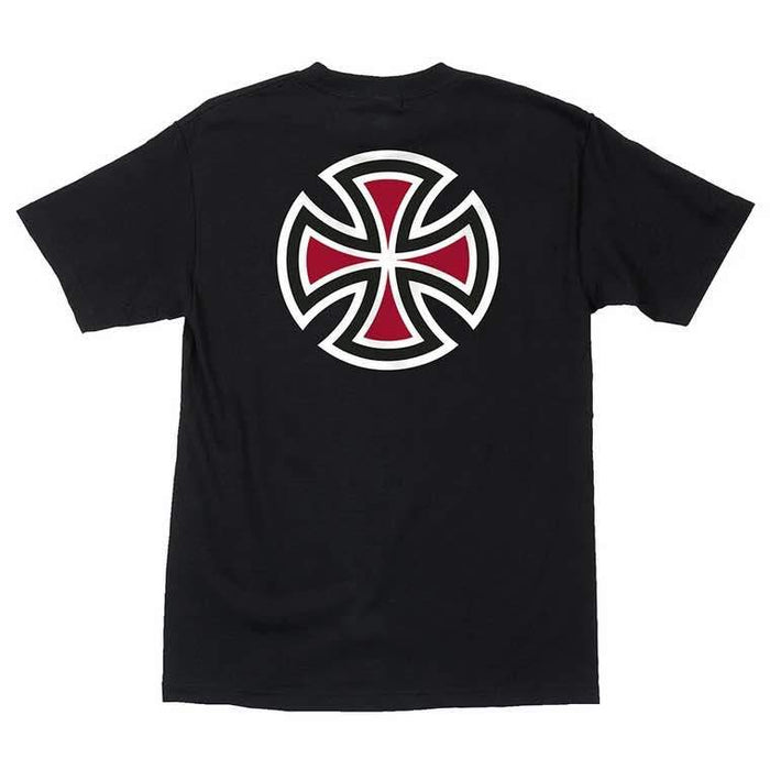 Independent | Bar/Cross Mens T-Shirt | Black