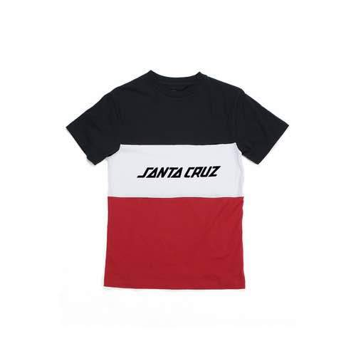 Santa Cruz - Strip Block Tee - Youth
